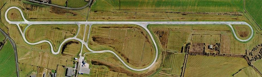 Vue aérienne du circuit Lurcy-Lévis